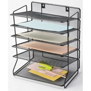 Sorter do dokumentów 6 półek metalowy Q-CONNECT Office Set /KF17289/